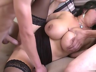 mature, big tits, threesome, oldy, straight,