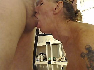 bareback, amateur, big tits, couple, guy fucks shemale, mature