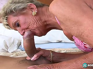 big tits, big ass, blonde, granny, lingerie, mature