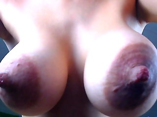 big nipples, big natural tits, puffy nipples, saggy tits, big tits,