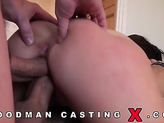 hardcore, anal, double penetration, ass licking, casting, audition
