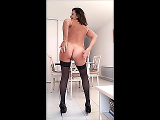 mature, brunette, stockings, milf, french, hd videos
